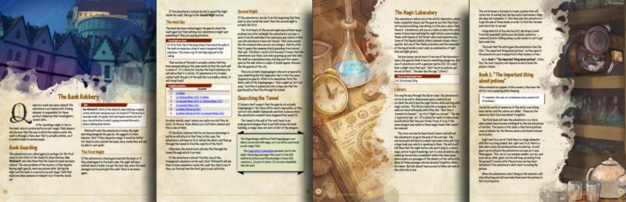 Quests in Qualicity (5e adventure)
